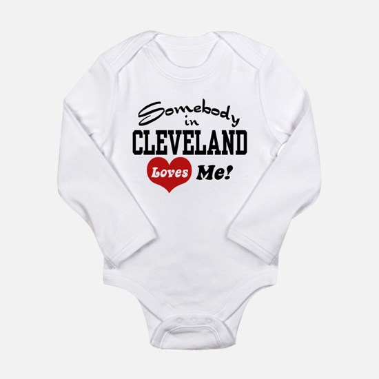 Funny Cleveland Long Sleeve Infant Bodysuit