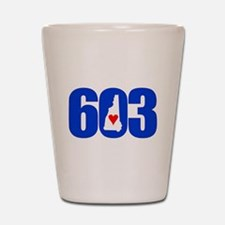 603 NEW HAMPSHIRE LOVE Shot Glass