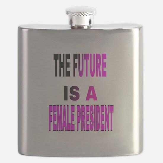 Unique Michelle obama Flask