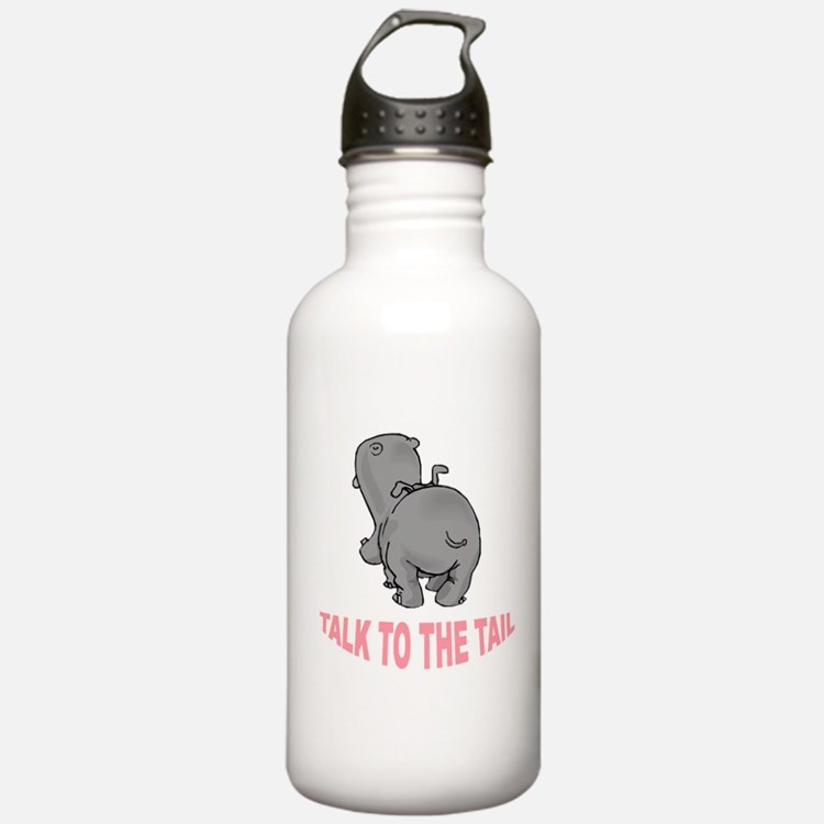Hippo Talk To The Tail Water Bottle