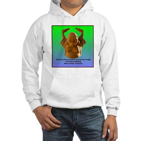 Laughing Buddha Hooded Sweatshirt