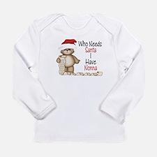 Unique Nonna christmas Long Sleeve Infant T-Shirt