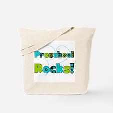 Preschool Rocks Tote Bag