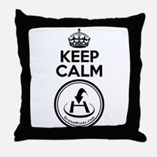 Keep Calm Drone Return to Home Throw Pillow