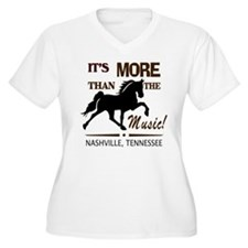 Nashville Is More Than the Music-TWH Plus Size T-S