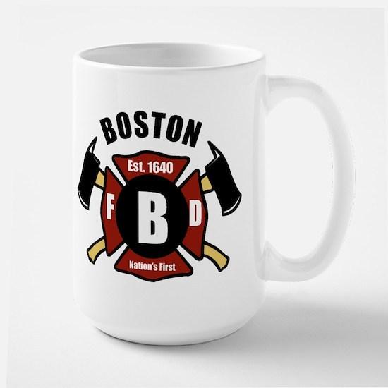 Boston Fire Department - Shield Mugs