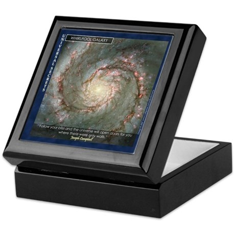 Keepsake Box (Whirlpool Galaxy)