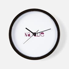 Natalie Wall Clock