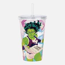She-Hulk Summons to Ap Acrylic Double-wall Tumbler