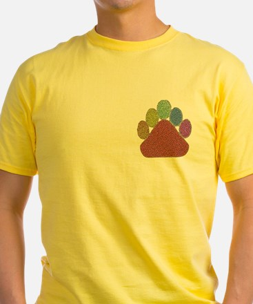 PASTEL DIMPLED RAINBOW PAW/pkt T