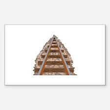 Railroad Tracks Decal