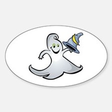 Magical Ghost Oval Decal