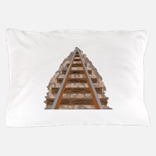 Railroad Tracks Pillow Case