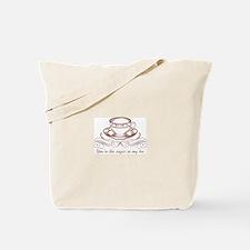 Sugar In Tea Tote Bag