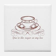 Sugar In Tea Tile Coaster