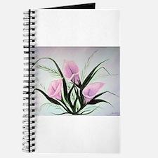 calla lily bouquet Journal