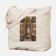 Virgin of Guadalupe. Tote Bag