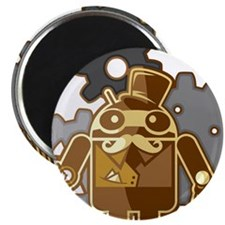 """Funny Android 2.25"""" Magnet (10 pack)"""