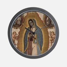 Virgin of Guadalupe. Wall Clock