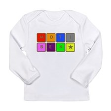 Cute Desi indian Long Sleeve Infant T-Shirt