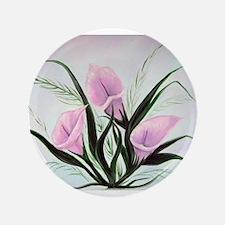 calla lily bouquet Button