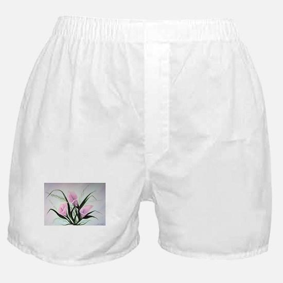 calla lily bouquet Boxer Shorts