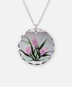 calla lily bouquet Necklace