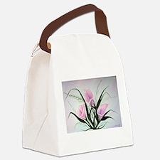 calla lily bouquet Canvas Lunch Bag