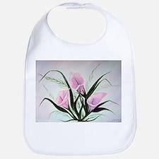 calla lily bouquet Bib