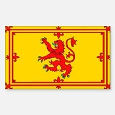 Scottish Royal Flag Bumper Stickers