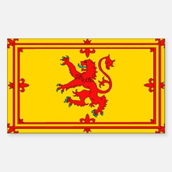 Scottish Royal Flag Decal