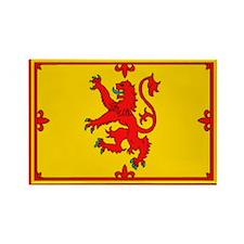 Scottish Royal Rampant Lion Magnet