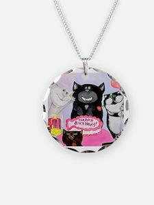 Unique Cat comics Necklace