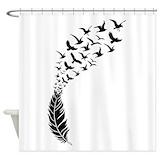 Birds Shower Curtains