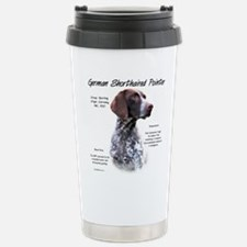Cute German shorthaired pointer Thermos Mug