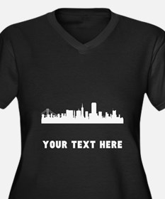 San Francisco Cityscape Skyline (Custom) Plus Size