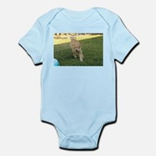golden retriever playing Body Suit