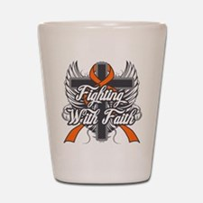 Multiple Sclerosis Faith Shot Glass
