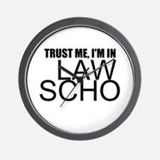 Trust Me, I'm In Law School Wall Clock