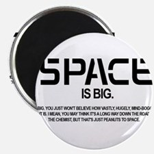 Space is Big Magnets
