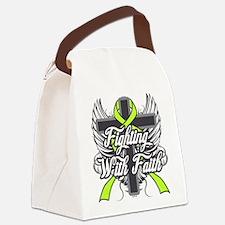 Lyme Disease Faith Canvas Lunch Bag