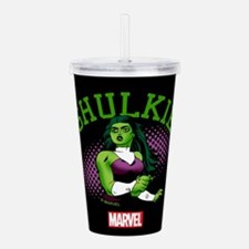 She-Hulk Shulkie Tumbl Acrylic Double-wall Tumbler