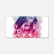 Most Pure Heart of Mary (sq Aluminum License Plate