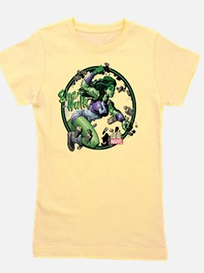 She-Hulk Punching Girl's Tee