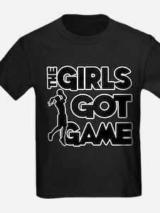 Funny Basketball girls T