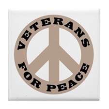 Veterans For Peace Tile Coaster