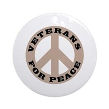 Veterans For Peace Ornament (Round)