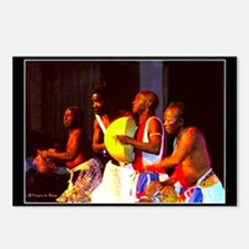 African Dance Troupe - Postcards (Package of 8)