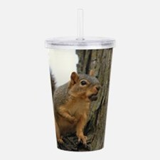 Squirrels Acrylic Double-wall Tumbler
