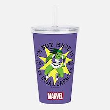 She-Hulk Legal Capacit Acrylic Double-wall Tumbler